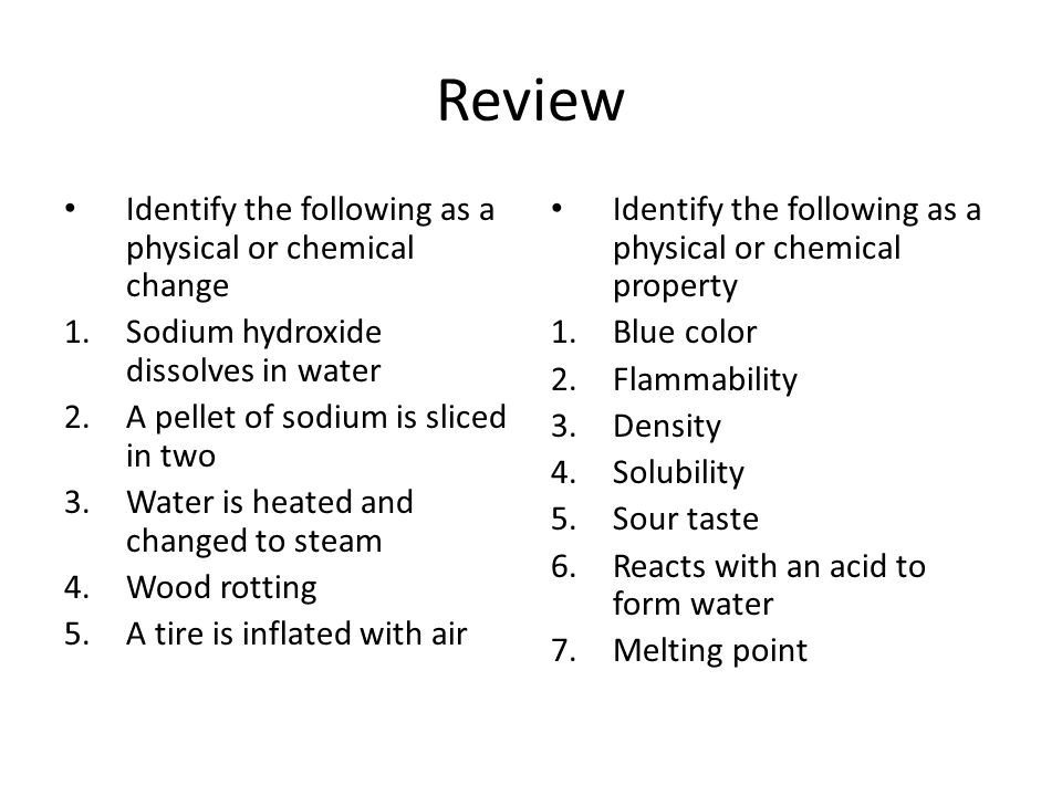 Sodium Hydroxide Dissolves In Water Physical Or Chemical Property