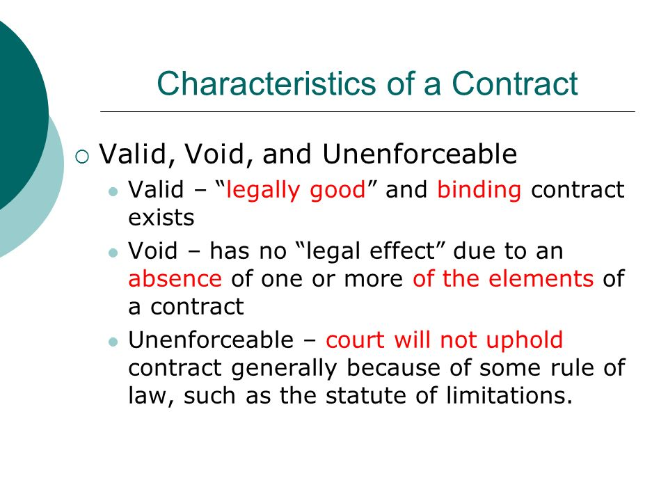 elements of a valid contract pdf