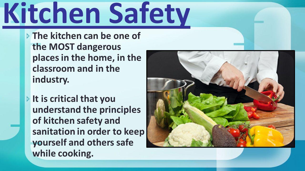 Kitchen safety poster project - 2 Kitchen