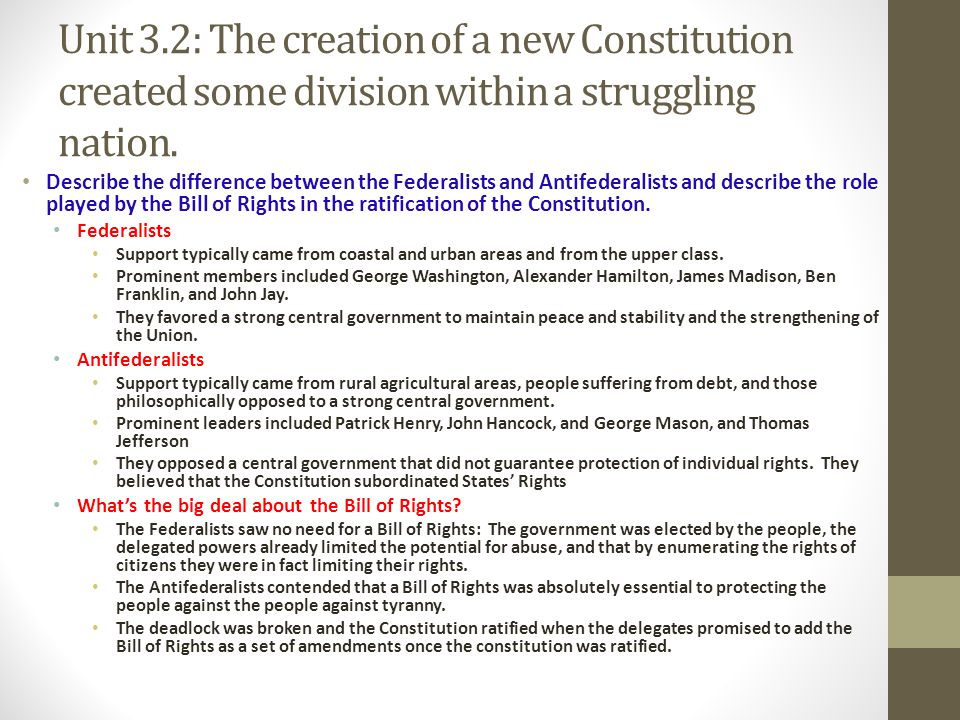 the differences between the bill of rights and the amendments Difference between statutory law and constitutional law difference between statutory law and  these rules could state the basic human rights of the man and.