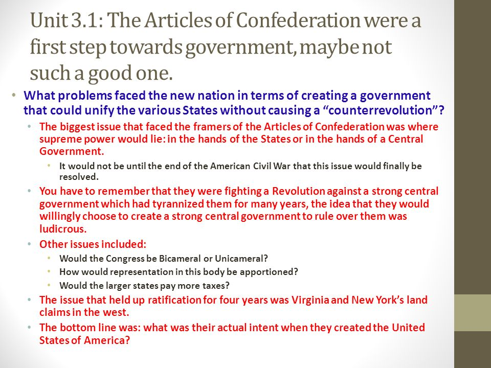 was articles of confederation a good 21 sentence examples: 1 the first u s government, established by the articles of confederation, was essentially a union of the states 2 the articles of confederation proved a clumsy.