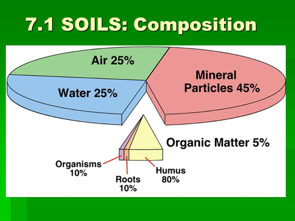 Soils pedology the scientific study of soils the surface for Earth soil composition