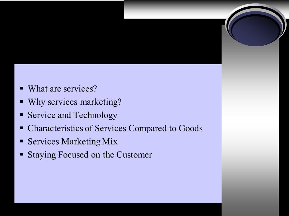 """characteristics of services compared to goods"" 312 characteristics of services compared to goods  13 32 customer care."