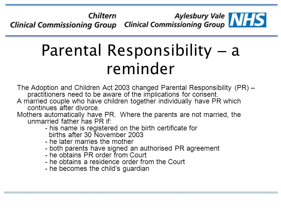 parental responsibility a deterrent to juvenile You also have a responsibility to help your child comply with  which persons have parental rights in the juvenile  control the time, place and conditions of the.