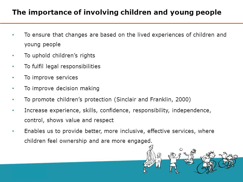 child rights on decision making young people essay Children have the same rights as adults as a vulnerable group, children have  particular rights that recognize their special need for protection.