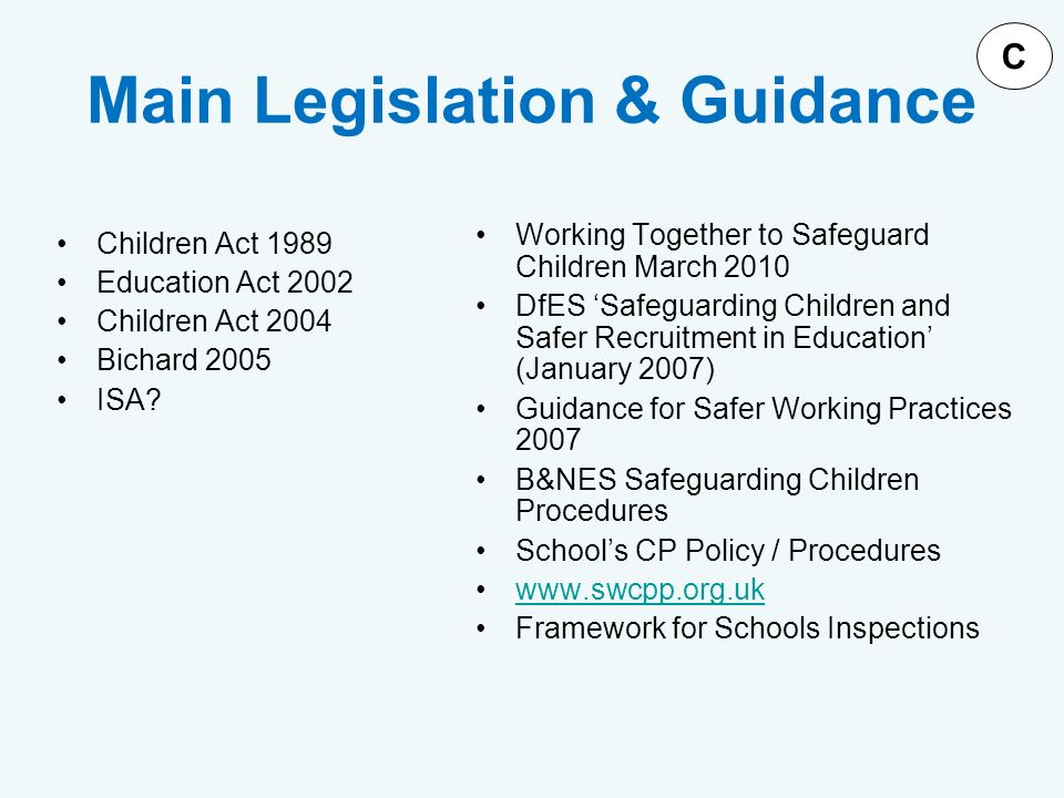 understand the main legislation guidelines policies In nsw there are key pieces of legislation and policies that must be the relevant policy on the nsw legislation button you understand and agree to.