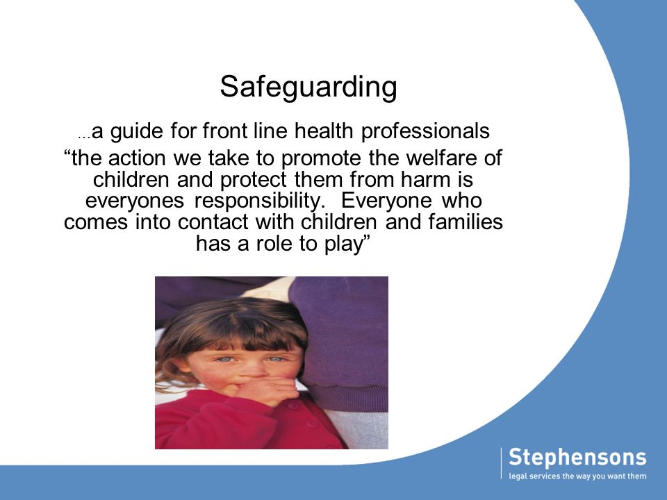 unit 202 safeguarding the welfare of Free essay: 202 safeguarding children and young people 11 within our school there are policies set in place and it is important that staff know the.