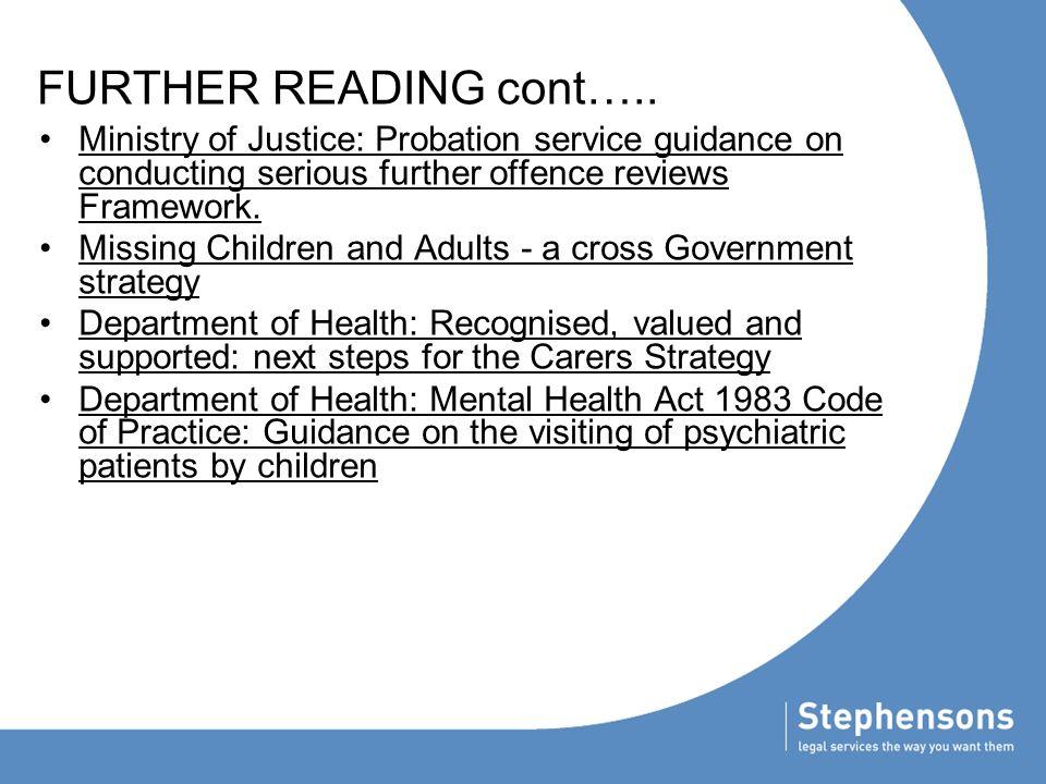 websites further reading