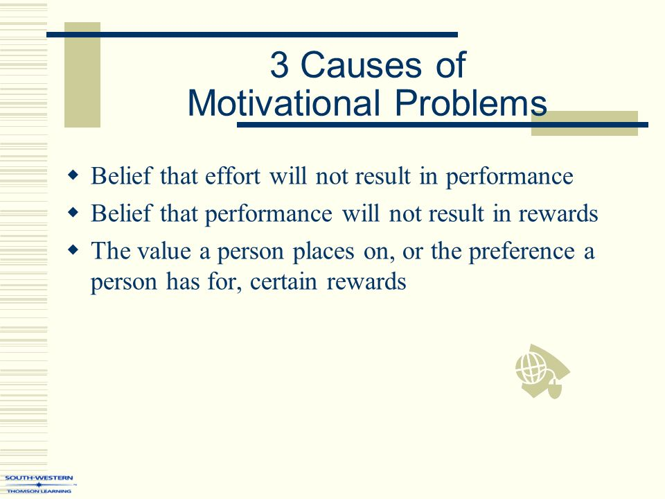 motivation and performance issues in the nhs The two causes of poor performance – lack of ability and low motivation – are inextricably intertwined, and goal setting, feedback, and a supportive work environment are necessary conditions for improving both.