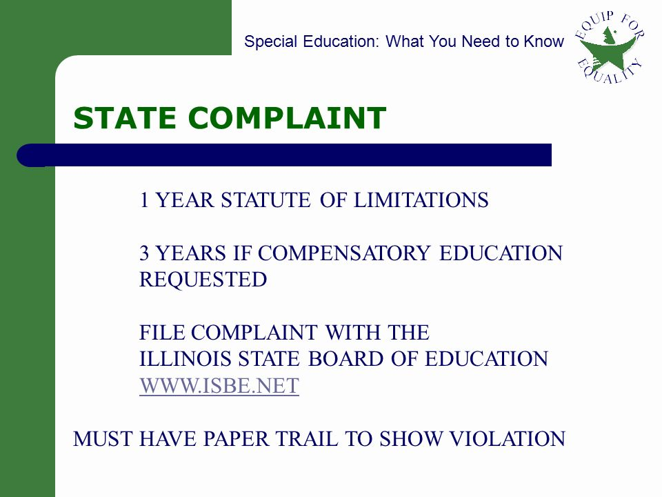 The statute of limitations essay