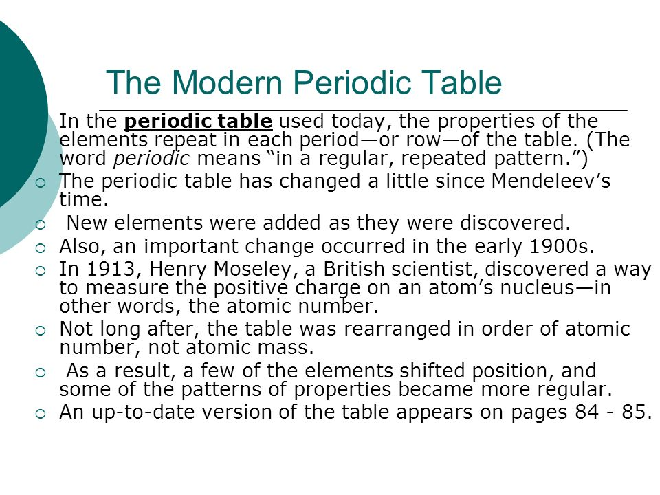 Organizing the elements ppt download for 11 20 elements on the periodic table