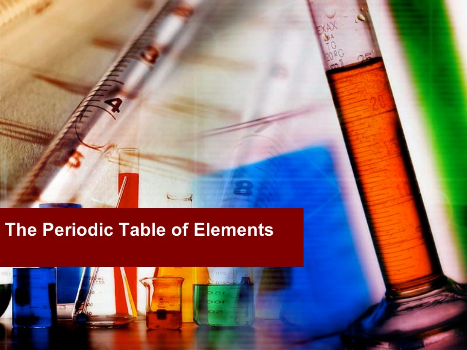 The periodic table of elements ppt download for 1 20 elements on the periodic table