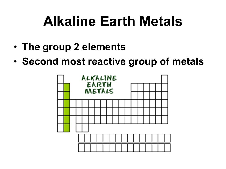 The periodic table and the periodic law ppt video alkali and the periodic table and the periodic law ppt video urtaz Gallery