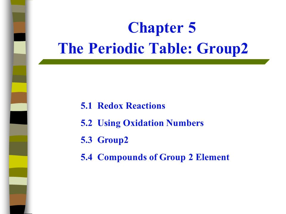 Chapter 5 the periodic table group2 ppt video online download chapter 5 the periodic table group2 urtaz Image collections