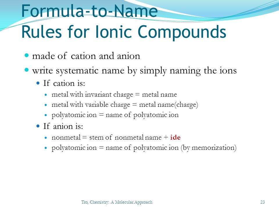 Chapter 3 Molecules, Compounds, and Chemical Equations ...
