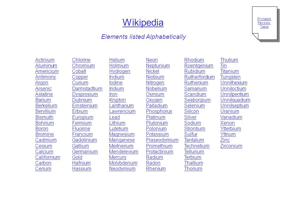 periodic table potassium periodic table wiki periodic table of the elements ppt download - Table Periodic Wikipedia