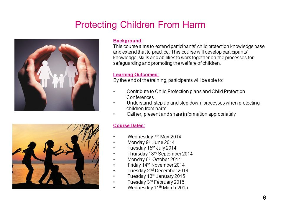 child protection Find resources as well as state safety standards to assist in identifying interventions and developing safety plans.
