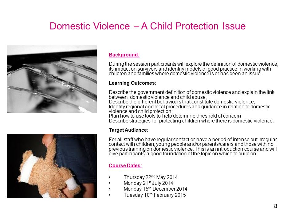 domestic violence impact on children and young people The findings are reported under three of the four areas used to structure the  interviews: (1) the impact of domestic violence on children and young people,.