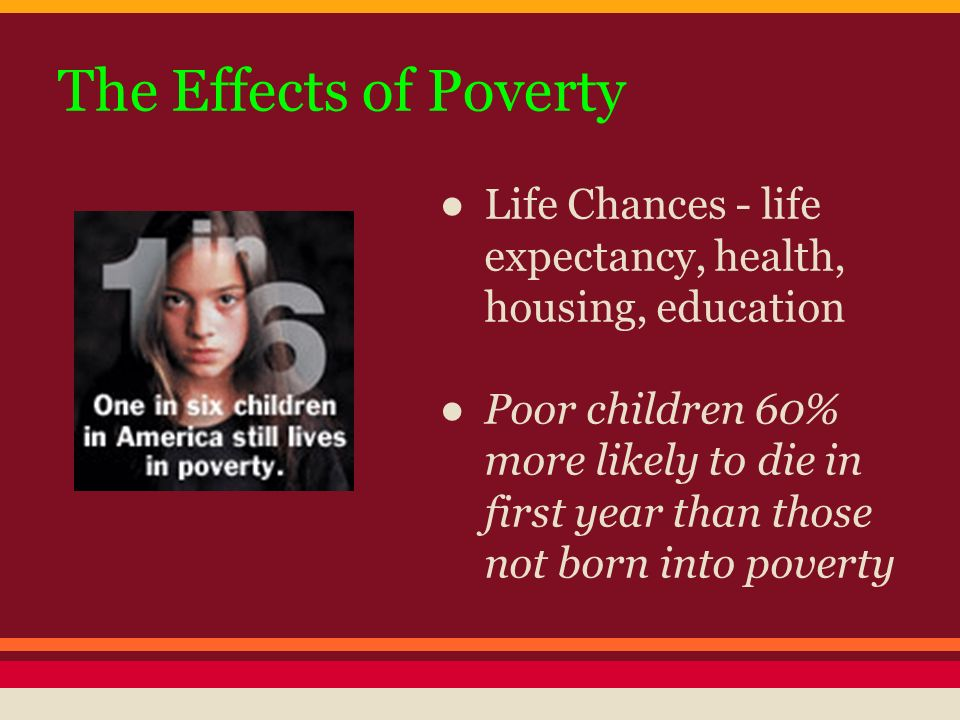 implications of poverty in children' education A thesis submitted to the graduate school-camden rutgers, the state  university of new jersey in partial fulfillment of the requirements for the degree of.