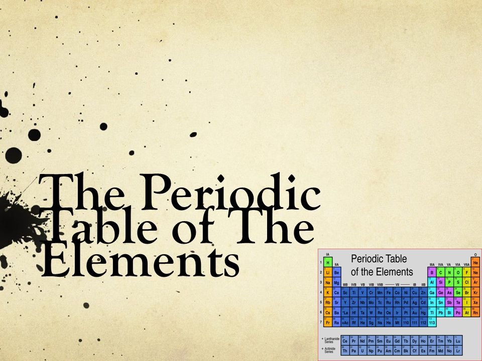 Periodic table periodic table of elements using visual basic periodic table periodic table of elements using visual basic the periodic table of the elements urtaz Images