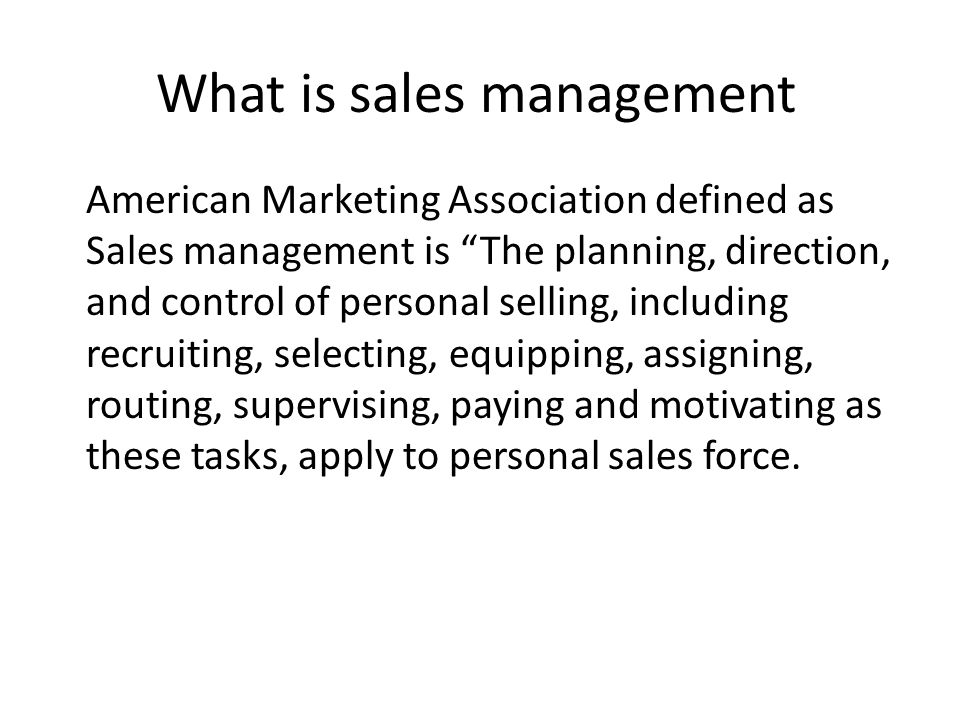 nature of sales manager Whether you are a salesperson or a sales manager (or a ceo for that matter),   because the nature of sales is so cyclical and dependent on.
