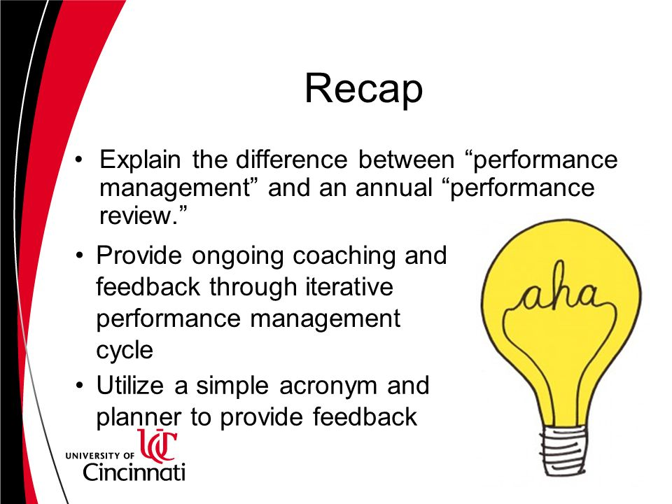 difference between learning and performance The difference between course objectives and learning outcomes—and the reason these terms are so often conflated with each other—is the former describes an intended state (what you hope your students will learn), whereas the latter expresses a present or observed state (what your students actually learned).