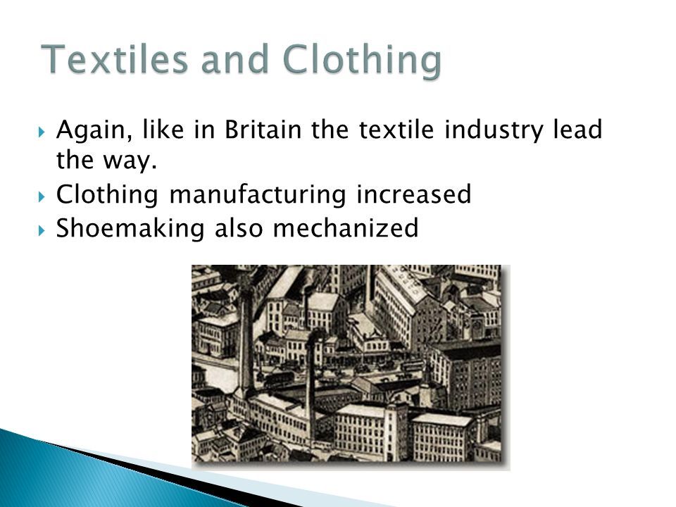 the mechanization of the textile manufacture industry essay What is textile manufacture during the growing reaction against the mechanization of the industry) repository of textile books essay and source.