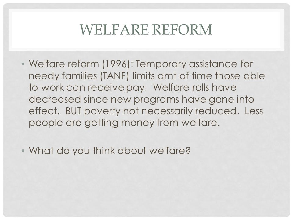 Policy Basics: An Introduction to TANF