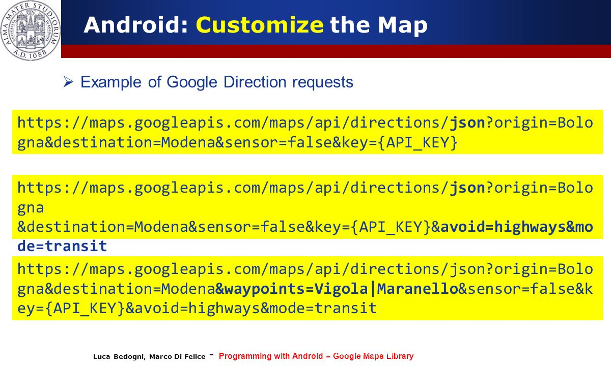 Programming With Android Localization And Google Map Services Ppt Video Online Download
