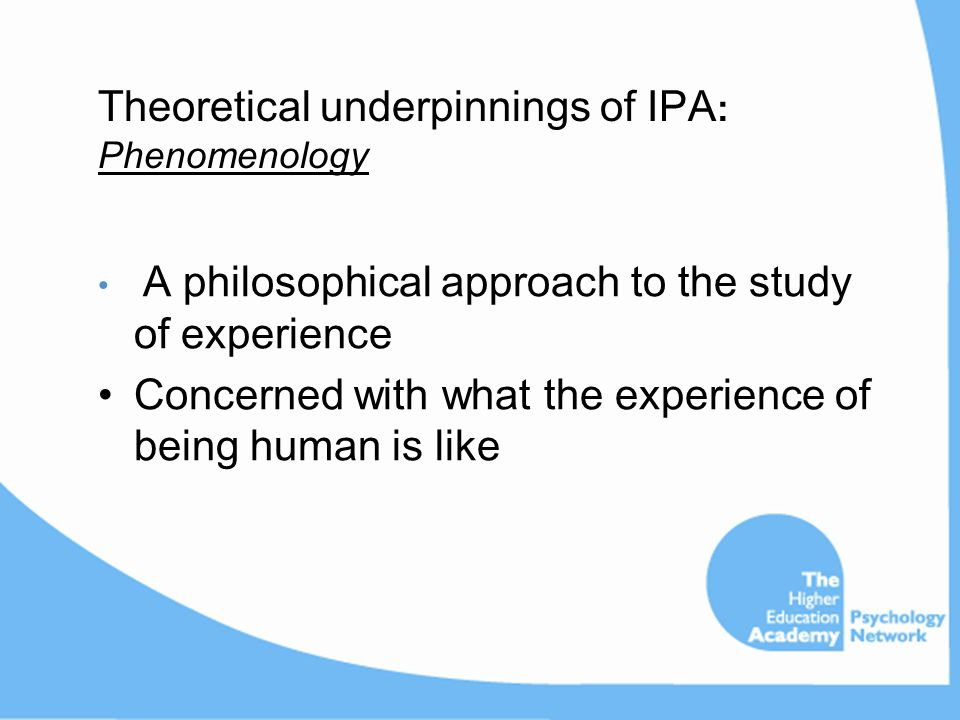 scientific and philosophical underpinnings ••the nature of qualitative research ••key philosophical issues in social research ••positivism and scientific method we begin with a brief introduction to the philosophical underpinnings, history and.
