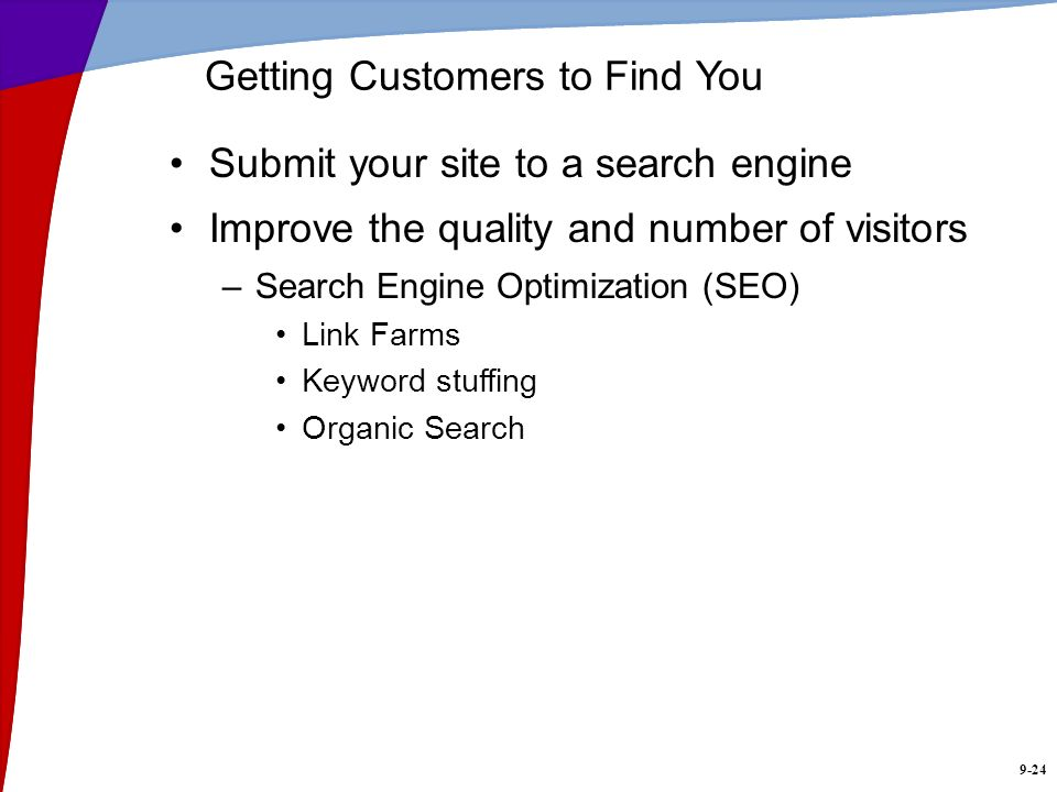Getting Customers to Find You