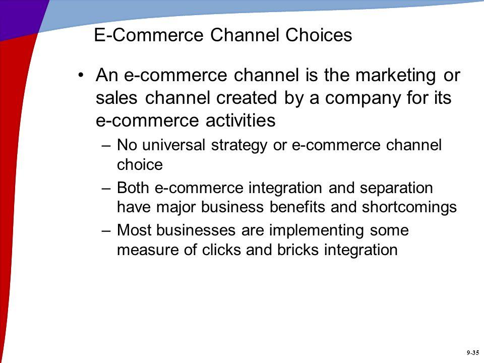E-Commerce Channel Choices
