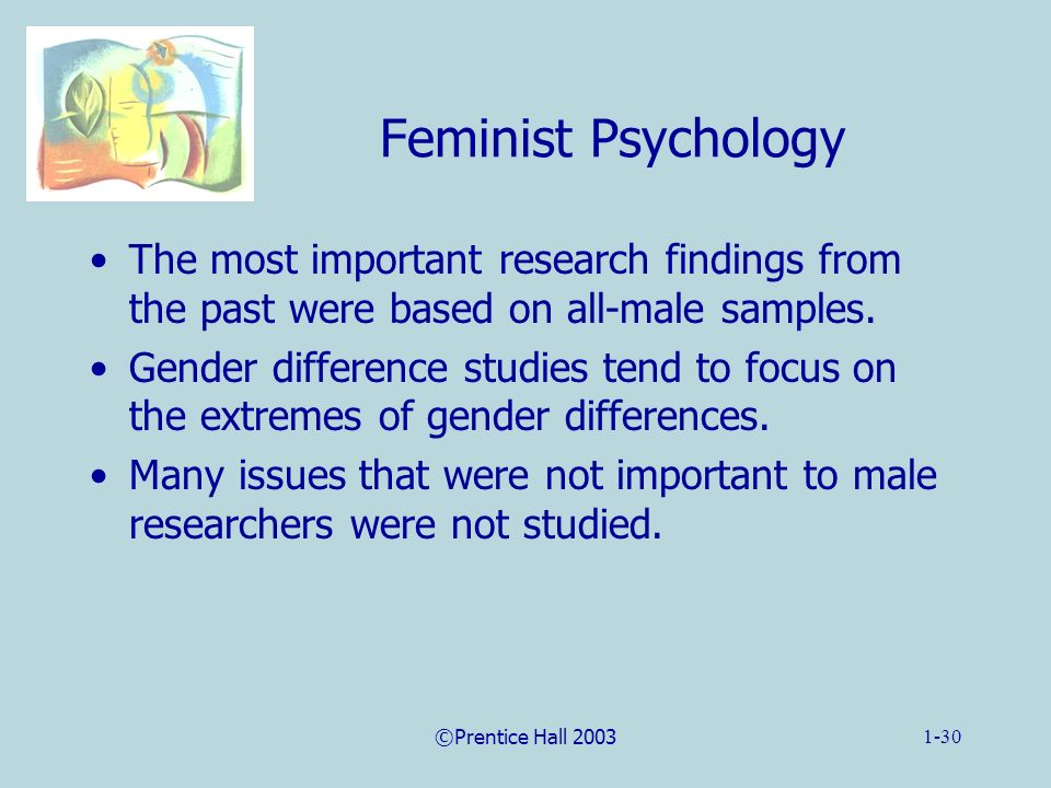 a research on male responses to feminism Some feminist critics seek to interpret the works of male feminist literary criticism, feminist you gain some experience in feminist literary research.