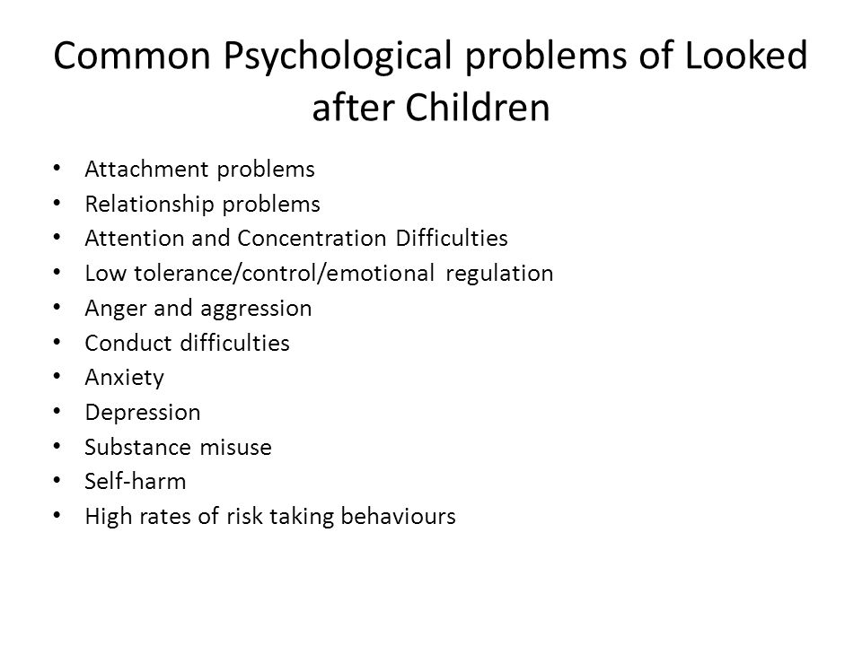 the physiological psychological and psychiatric problems facing adolescents today Mental health of adolescents: a national and physical health problems and other professionals with psychological training are exp ected to bring to school.