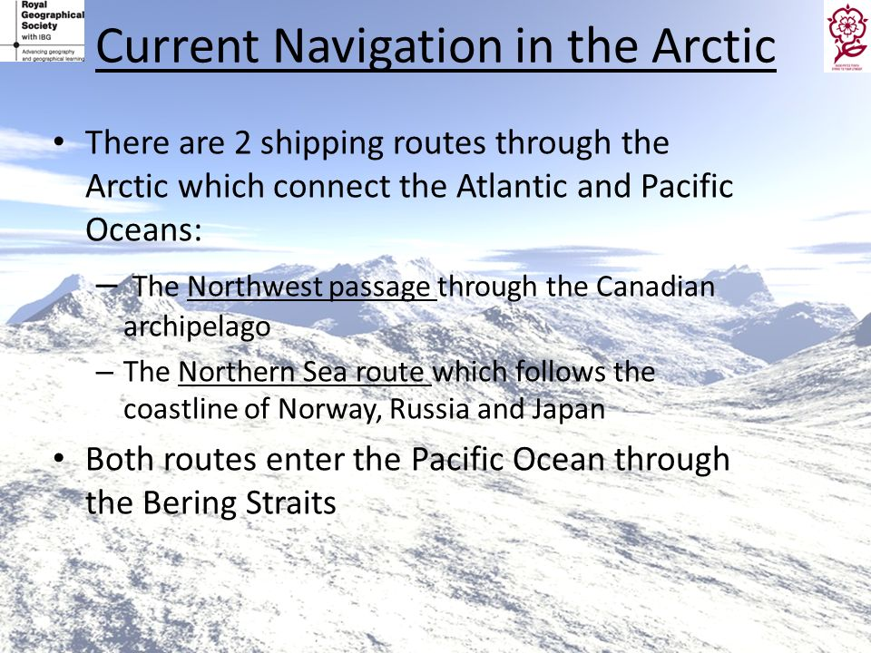 Current Navigation in the Arctic