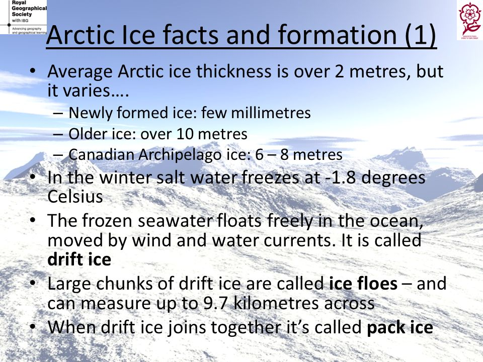 Arctic Ice facts and formation (1)