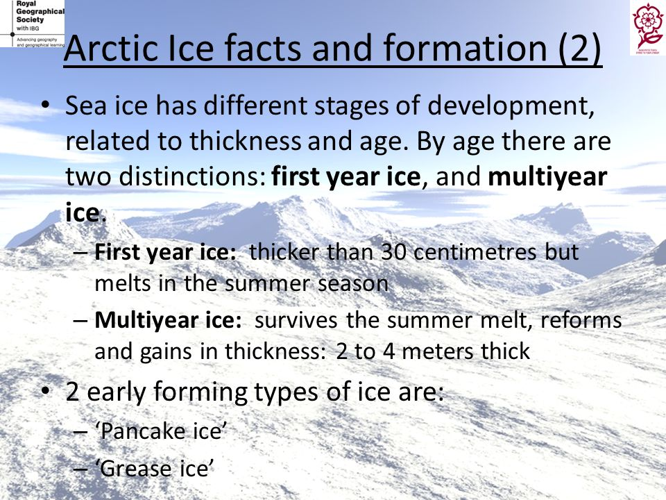 Arctic Ice facts and formation (2)