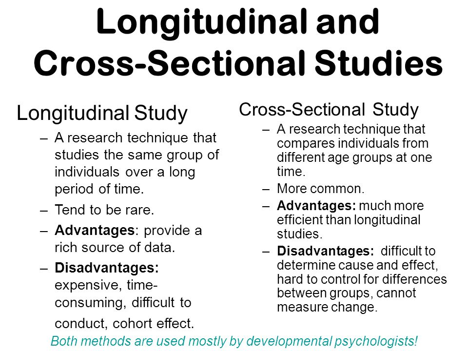 Cross-Sectional Study: Definition, Advantages ...
