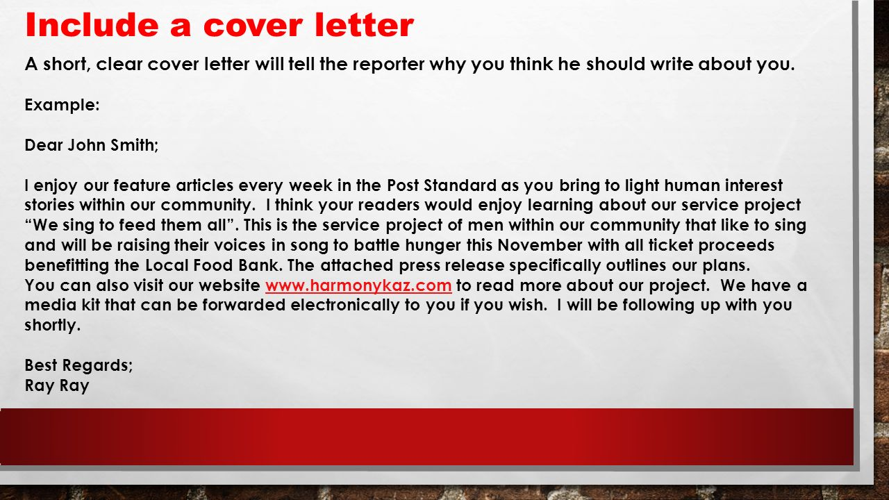 should cover letters be short - servi sing ppt download