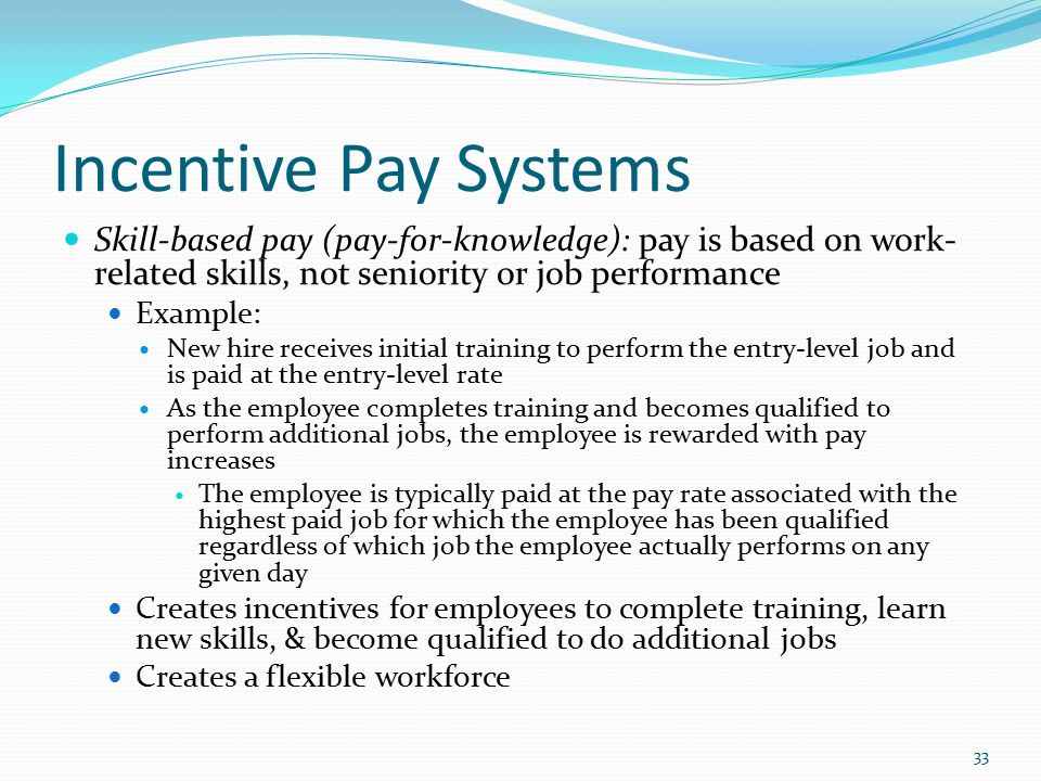 performance based pay and employee rewards presentation Running head: performance based pay 2 performance based pay and employee rewards performance based pay and employee rewards are very important when compiling a strategy for great talent attraction and long term retention of said talent this presentation will center its attention on two organizations, coca-cola and intel these organizations are from different industries, have different.