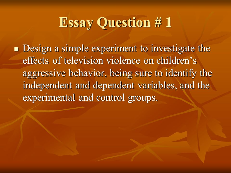behavior development in violence essay The behavioral, affective, and cognitive implications of media violence complex   emotional development television use review of research media violence  adolescent child media effect personality  essay periodical article  descriptors:.
