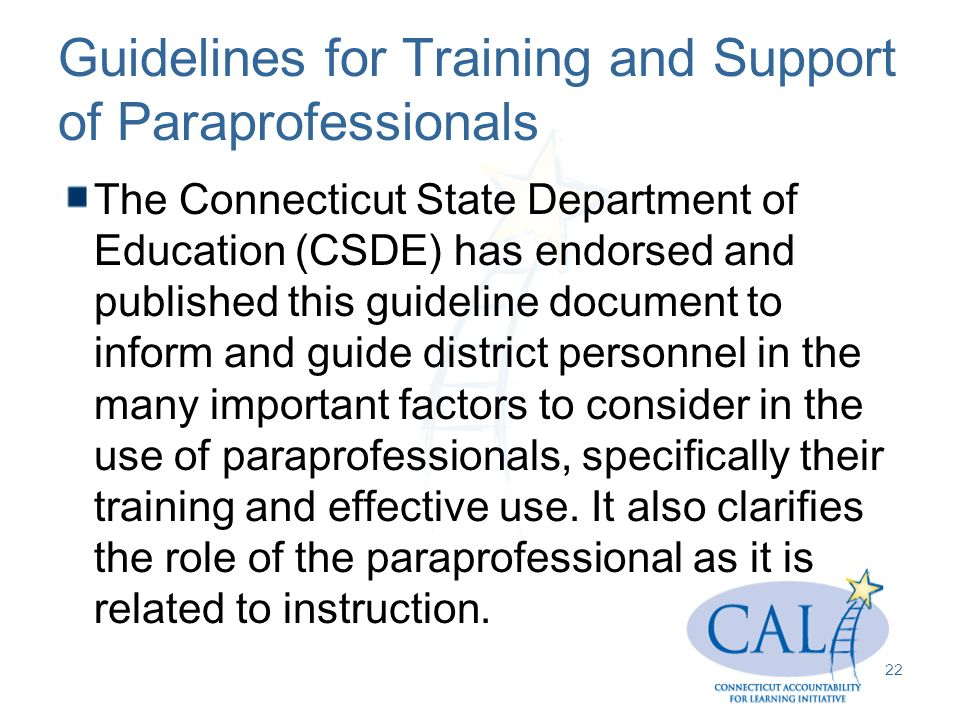 paraprofessionals dissertations Evaluating the effect of a staff training package for paraprofessionals to teach the use of paraprofessionals to support the dissertations and.