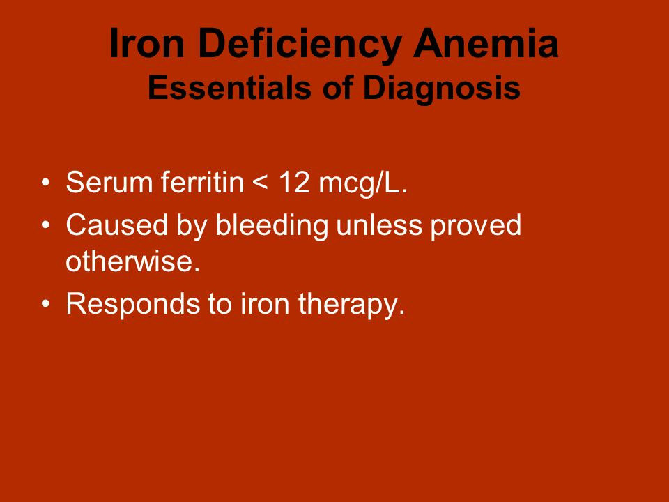 iron deficient anemia Detailed information on aplastic anemia, including cause, symptom, diagnosis, and treatment.
