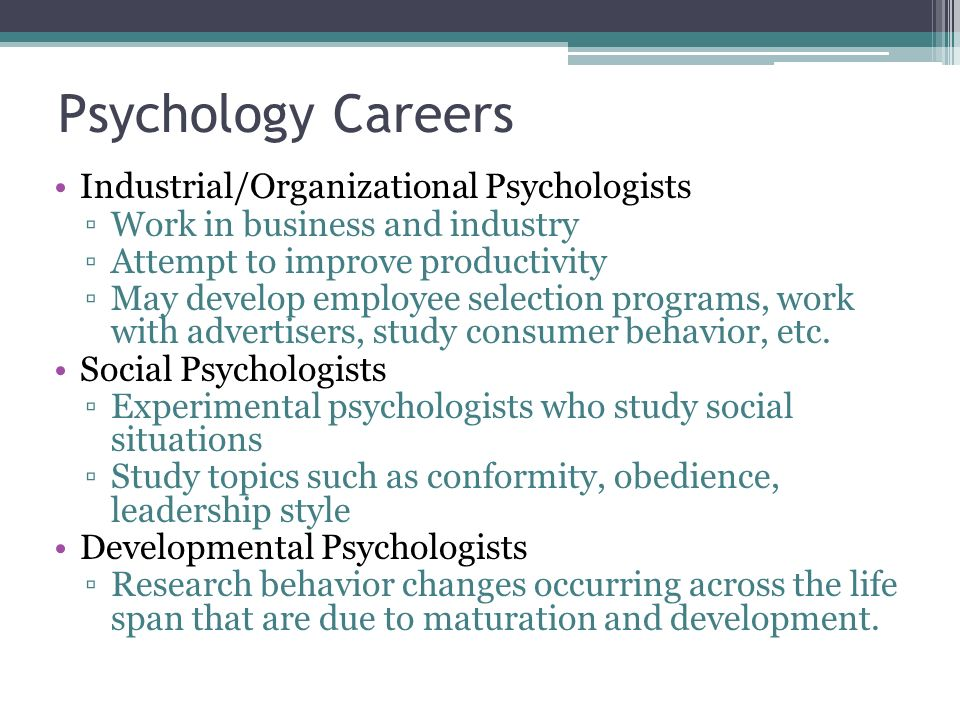 industrial organizational psychology in film essay Industrial organizational (i/o) psychology is the study of individual and group behaviors in the workplace the field utilizes methodology, statistical analysis, and recording observations of how people interact and function in the workplace this can include populations in business, non-profit.