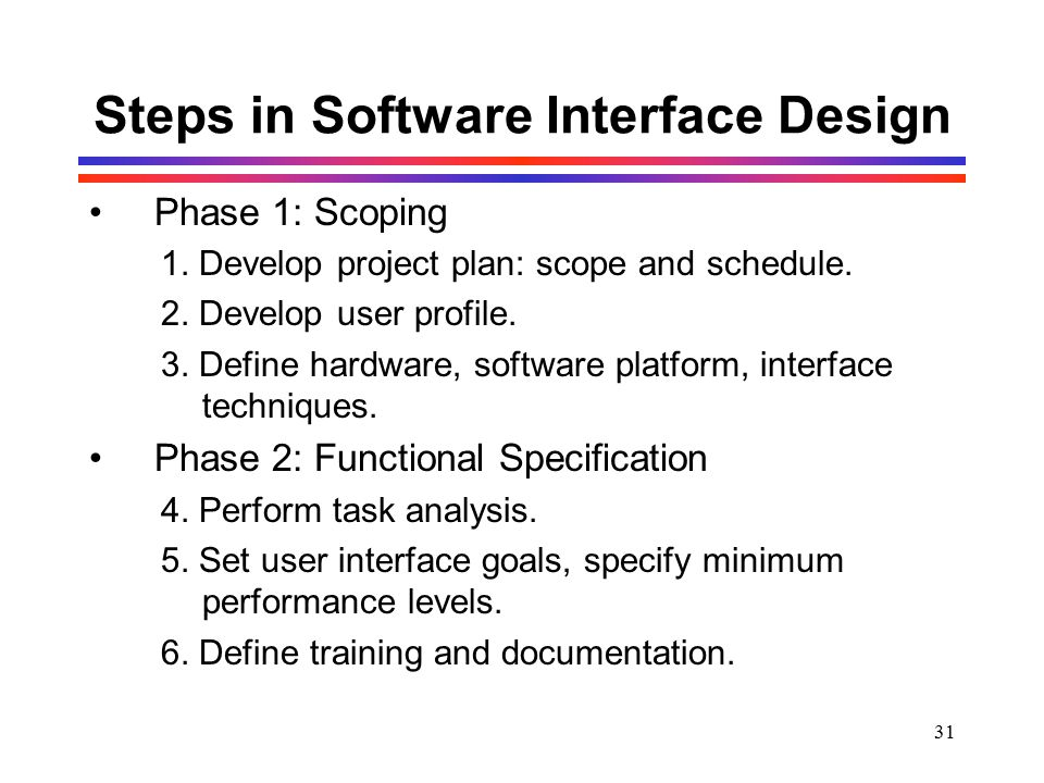 3 User Interface Design Techniques: Human-Computer Interaction - ppt downloadrh:slideplayer.com,Design