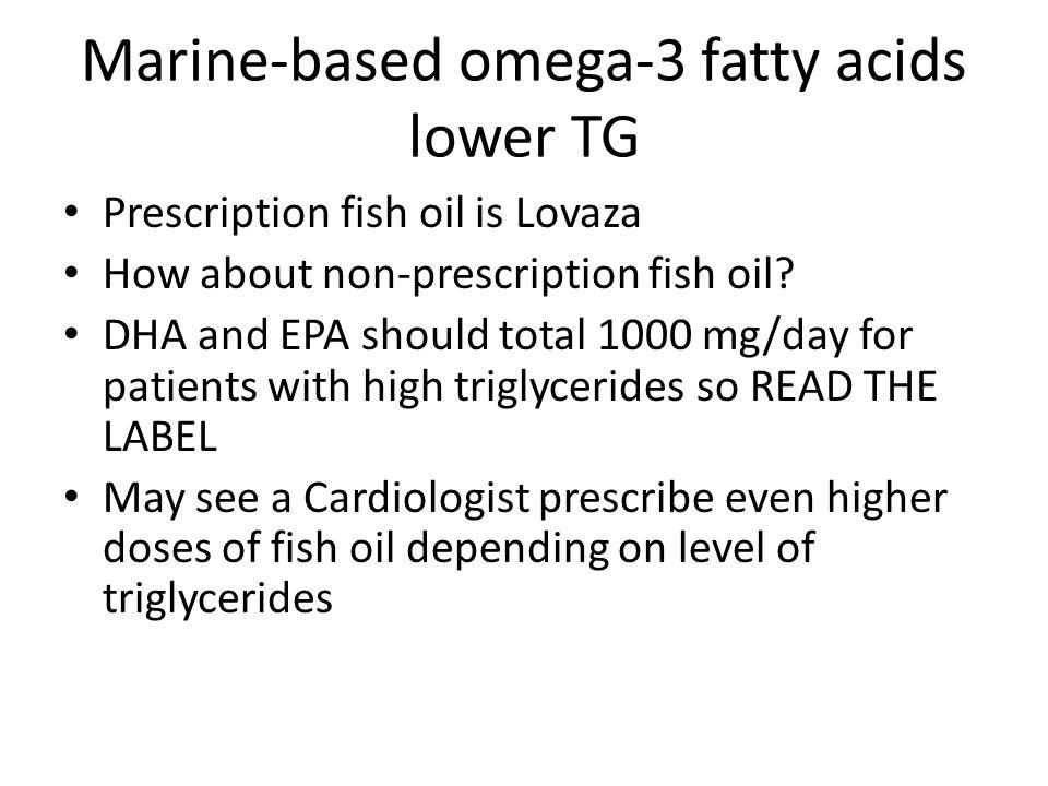 Interpretation of lab tests ppt download for Does fish oil lower triglycerides