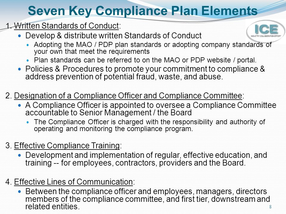 Medicare compliance and fraud waste and abuse fwa training ppt download - Compliance officer certification programs ...