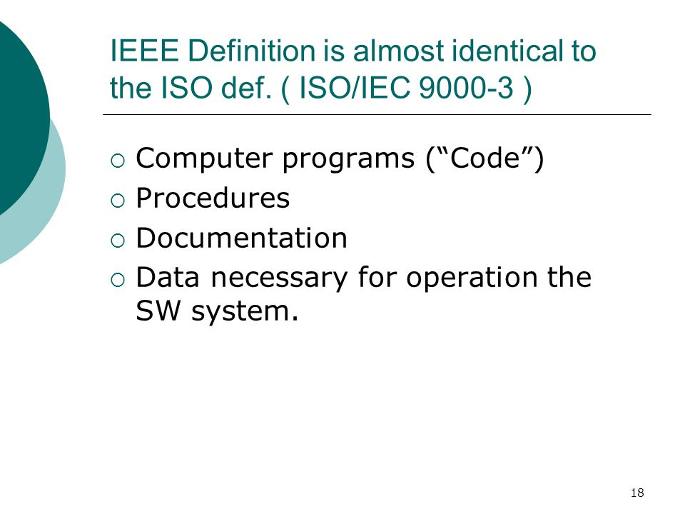The software quality challenge ppt download for Ieee definition