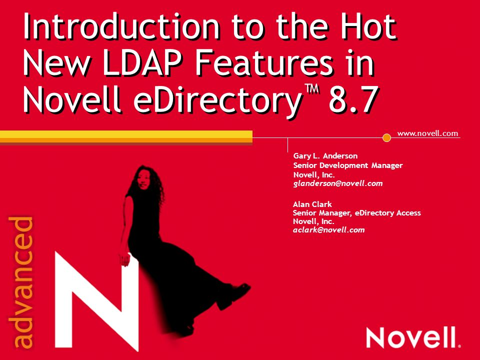 Novell Edirectory Evaluation License