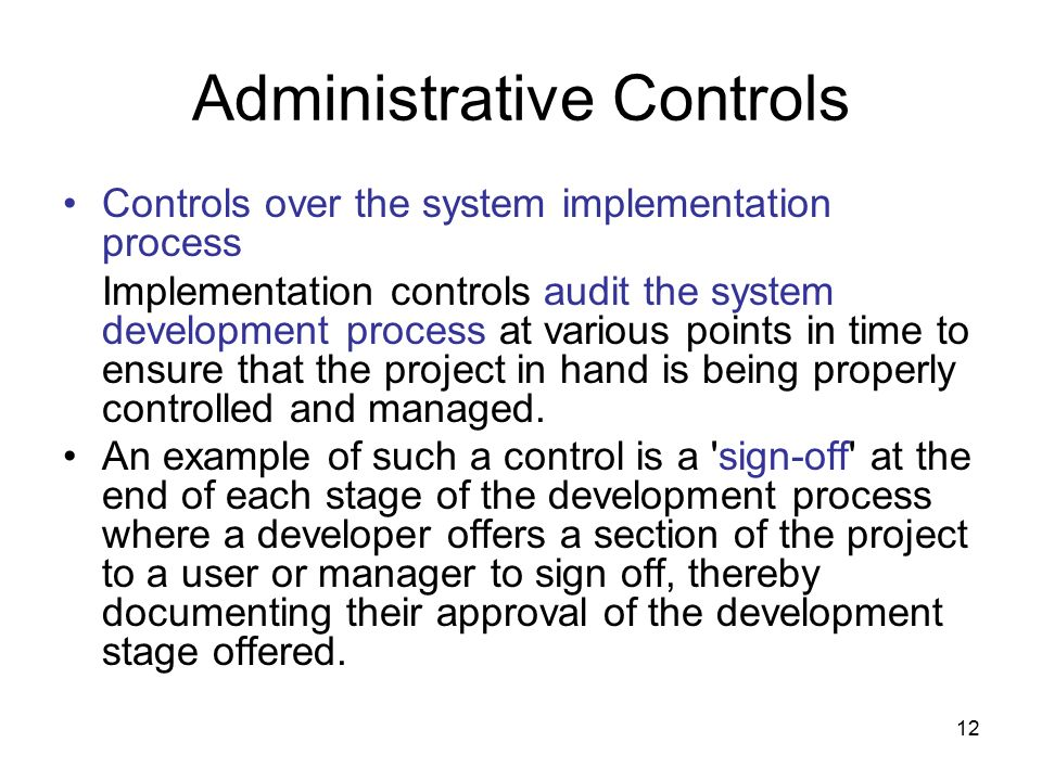 """administrative controls According to 10 cfr 8303 (a) [title 10 energy chapter iii department of energy  part 830 nuclear safety management], administrative controls means """"the."""